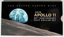 2019 Apollo 11 50th Anniversary Half Dollar 2 Coin Set OGP