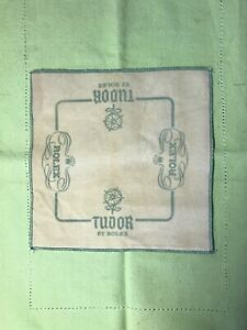 Genuine Vintage 60's Rolex - Tudor Cleaning Polishing  Cloth  One (1) Piece Sale