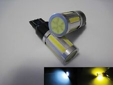 1 set   7443 7444 COB LED SMD 2 colors Switchback White / Yellow