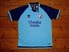 Crawley Town FC Camiseta de Fútbol Away Top Errea Rojas Sussex Edad 8-10 Years