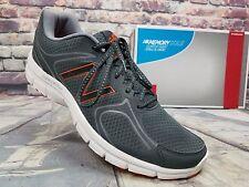 Mens NEW BALANCE Shoes Comfort Ride Running Athletic Gray / Orange  Sz 11.5 D US