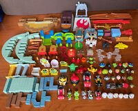 Huge Angry Birds Action figure Lot Star Wars And More 136 Pieces L@@K!