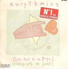 "45 TOURS / 7"" SINGLE--EURYTHMICS--THERE MUST BE AN ANGEL / GROWN UP GIRLS--1988-"