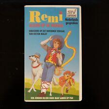 REMI - ALLEEN OP DE WERELD (HECTOR MALOT)  - VHS