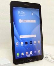 "UNLOCKED Samsung Galaxy Tab E 8"" HD 16GB Tablet WiFi + 4G (AT&T) GSM SM-T377A"