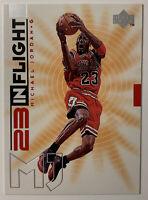 1998-99 UPPER DECK IN FLIGHT MICHAEL JORDAN #IF5 GEM MINT INSERT CARD