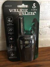 New Cobra Cx112 Two Way Radio microTalk add-on Walkie W/ 22 Channels