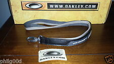 Oakley Lanyard PANELED LEATHER Keychain Rare SI ELITE TACTICAL AP SHEET METAL