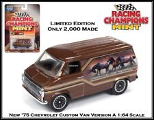 Racing Champions '75 Chevy Custom Van 1:64th Scale Car By Auto World 2000 Made