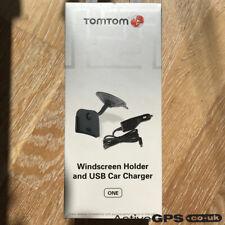 TomTom One New/2nd/3rd Soporte De Parabrisas Y USB Cargador De Coche - 9N00.101