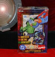 DC Versus MARVEL COMICS Trading Cards FACTORY SEALED in Box- Sky Box MINT - 36Ct