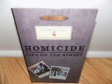 Homicide: Life on the Street - The Complete Season 4 (DVD, 2004, 6-Disc Set) NEW
