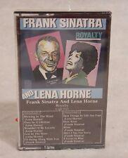 Sealed New Cassette : FRANK SINATRA & LENA HORNE: Royalty INTERMEDIA RECORDS