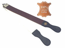 Barber Leather Strop Razor Professional Straight Razor Sharpener Old Fashion