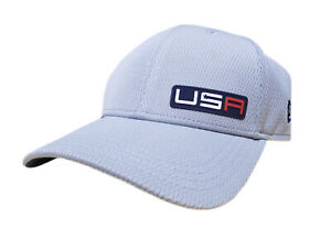 NEW 2020 New Era 39Thirty USA Ryder Cup Friday Gray Fitted Small/Medium Hat/Cap