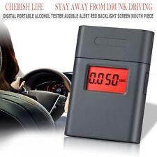 Professional Digital LCD Breath Alcohol Tester Breathalyzer Mini Analyzer AT838