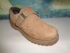 Skechers Shoes Men Beige Leather Casual Comfort Size 9