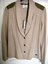 Scaline London Cotton Jersey Blazer - Large