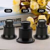 5X 15X 25X Watch Jewelry Repair Magnifier Eyes Loupe Lens Magnifying Glass Tool