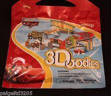 Disney Pixar Cars 3Doodles Doodle Sheets, Sticker Sheet & Washable Marker