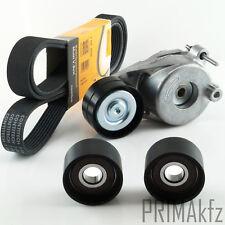 Conti 7PK2035 V-Ribbed Belts + Tensioner Mercedes E C CLK S 906 2987 Cc