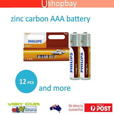 Genuine Philips Batteries Long Life Zinc Carbon Battery-AAA 12 pcs Pack
