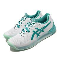 Asics Gel-Resolution 8 White Lagoon Women Tennis Shoes Sneakers 1042A072-106