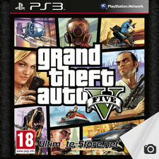 Jeu PS3 GTA 5 - Grand Theft Auto V + Carte Map et feuillet DLC PlayStation 3 (2)