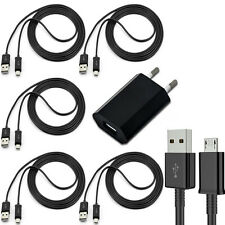 5x Micro USB Cable Charger + 1x Charger Power Supply For Original Samsung Galaxy