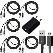 5x Micro USB Kabel Ladekabel + 1x Ladegerät Netzteil für Original Samsung Galaxy