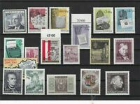 austria 1965-66 mnh and used stamps ref 10553