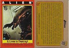 2013 Topps 75th Anniversary #75 Alien > It Lives to Destroy! > 1979