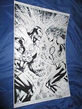 GREEN LANTERNS REBIRTH #4 Original Art Page #10 by Ed Benes/Rob Hunter  SPLASH
