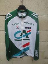 Veste cycliste CREDIT AGICOLE Nalini cycling jacket LOOK giacca XL / XXL