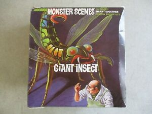 2008 MOEBIUS MONSTER SCENES GIANT INSECT SNAP TOGETHER MODEL KIT 1/13 SCALE