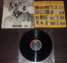 "BEATLES MONO ""Revolver"" CAPITOL T-2576 VG+ Vinyl VG+- Jacket w/Shrink, Orig Tag"