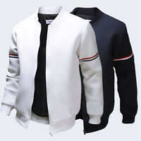 Spring Men Fashion Casual Varsity Jacket College Letterman Baseball Coat Outwear