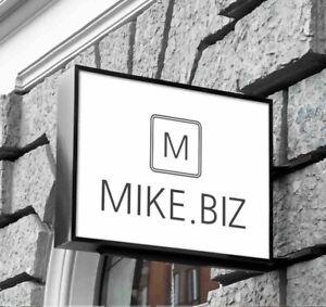 MIKE.BIZ premium domain