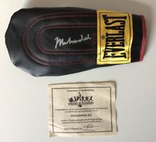 Muhammad Ali HAND-SIGNED AUTOGRAPHED Boxing Glove Stacks Of Plaques COA