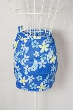"""""""Supre"""" Size Small - Cute Ladies Blue Floral Skirt - Great! Bargain Price!"""
