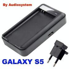 CARICATORE DESKTOP PER PILA SAMSUNG GALAXY S5 GT I9600+PRESA USB RETE DA TAVOLO