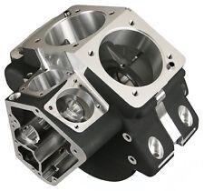 "Ultima® Black Fatso Engine Case 3.875"" Bore for Harley, Twin Cam Top, Evo Lower"