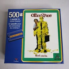 Office Space Movie Poster 500 Piece Jigsaw Puzzle Blockbuster