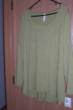 Luluaroe Lynnae Mustard Long Sleeve Shirt (3XL) BRAND NEW WITH TAGS!!!