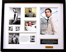 New Paul Walker Signed Limited Edition Memorabilia
