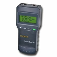 SC8108 Network Cable Tester LAN Phone Wire Meter Cat5 RJ45 Mapper Far End Test