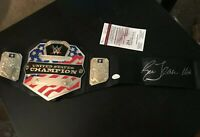 Ric Flair Signed WWE United States Championship Toy Belt JSA COA HOF Autograph