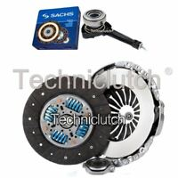 NATIONWIDE 3 PART CLUTCH KIT AND SACHS CSC FOR OPEL MOVANO BOX 2.5 D