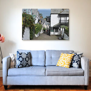 Clovelly - Various Sizes - North Devon Canvas - Ready to Hang