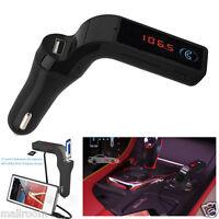 Auto FM Transmitter Bluetooth KFZ MP3 Player Freisprecheinrichtung USB Ladegerät